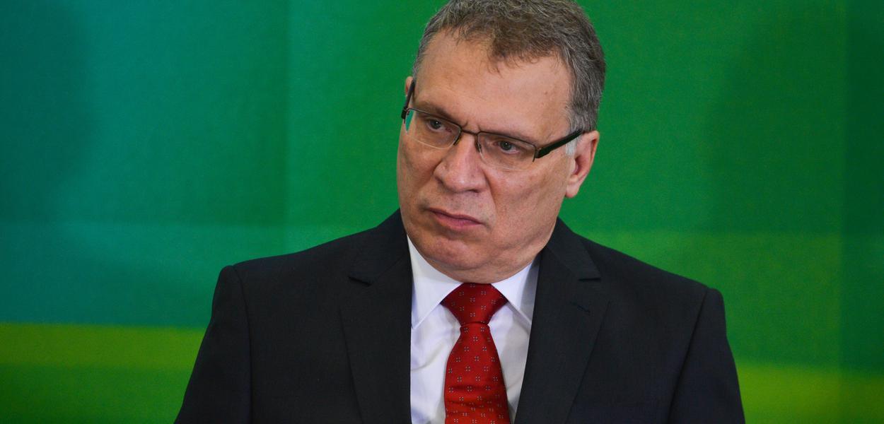 Brasília - O novo ministro da Justiça, Eugênio Aragão, durante cerimônia de posse (José Cruz/Agência Brasil)