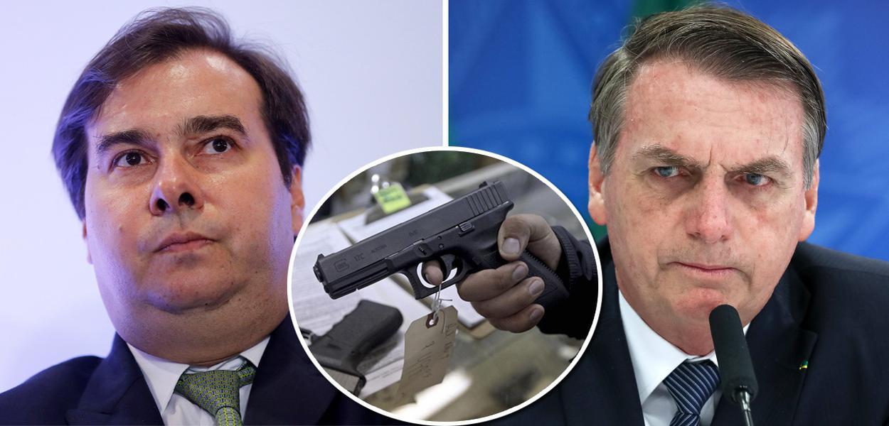 Maia: Câmara derrubará decreto de Bolsonaro de liberação das armas