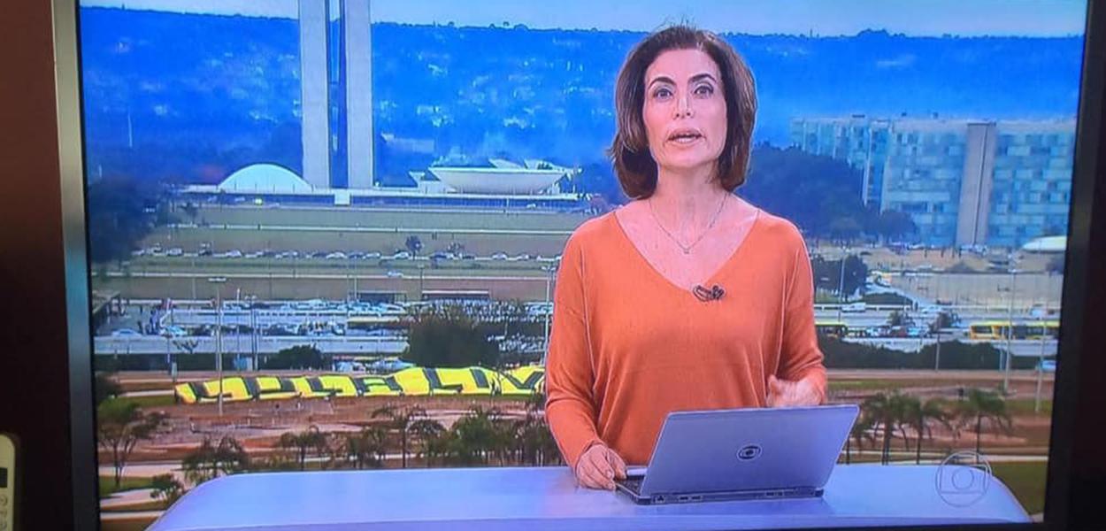 Lula Livre 'invade' programação da Globo