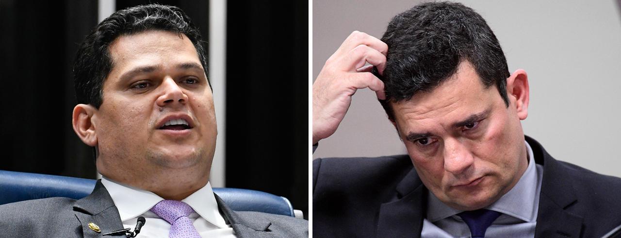 "Se fosse parlamentar, Moro estaria ""cassado ou preso"", diz Alcolumbre"