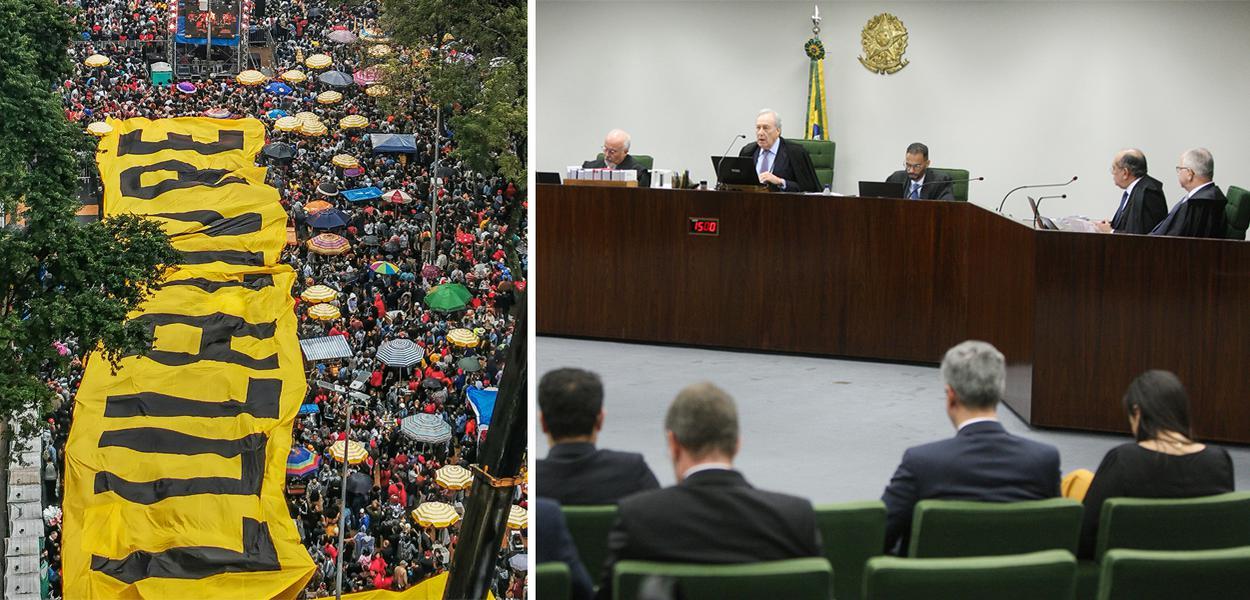 STF pode decidir liberdade de Lula