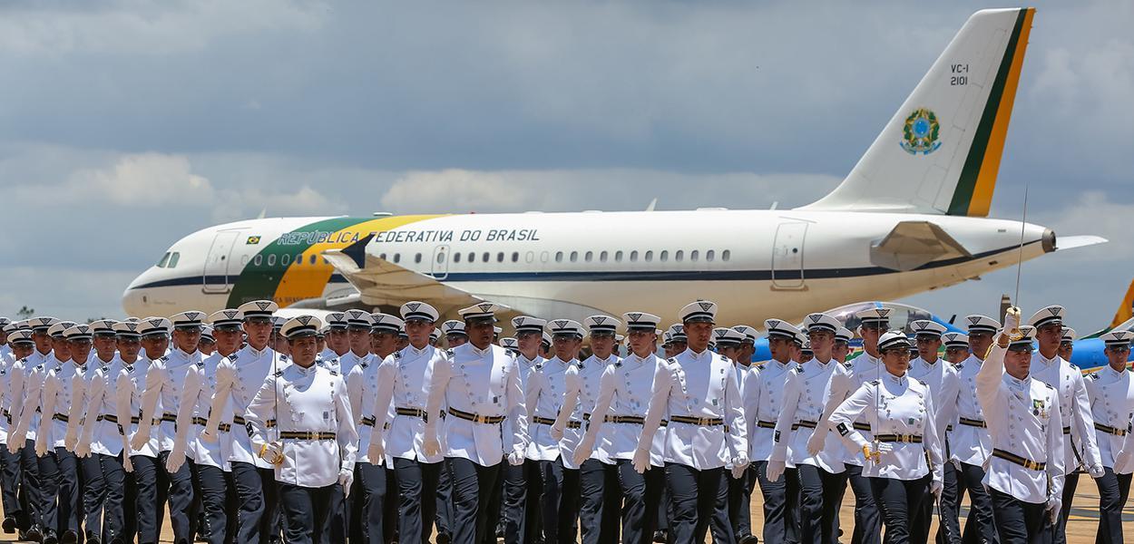 (Brasília - DF, 23/10/2018) Solenidade Militar Alusiva ao Dia do Aviador e ao Dia da Força Aérea Brasileira. Fotos: Marcos Corrêa/PR