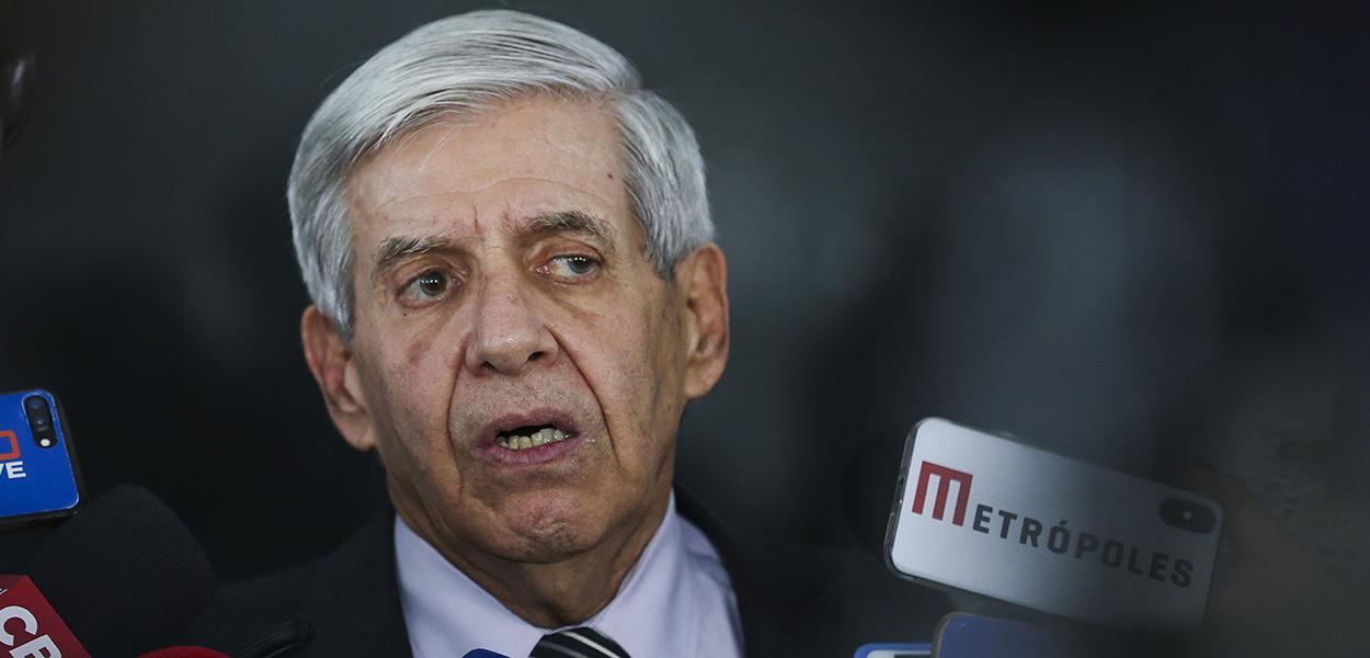 O ministro do Gabinete de Segurança Institucional (GSI), General Augusto Heleno