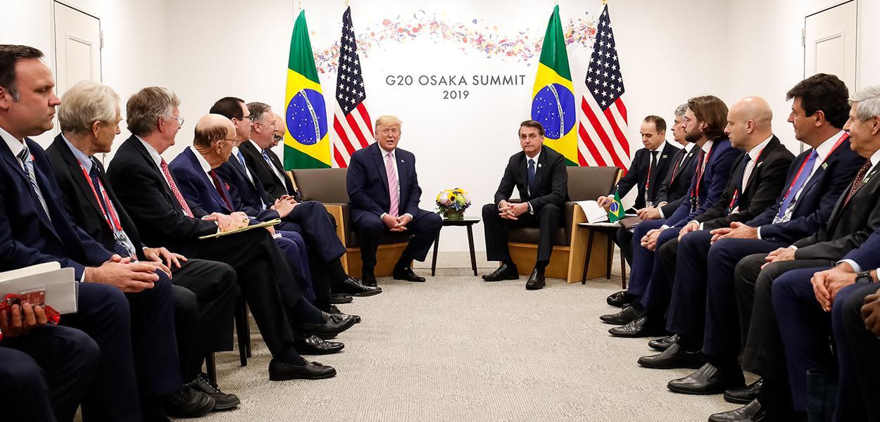Jair Bolsonaro encontra Donald Trump no G20