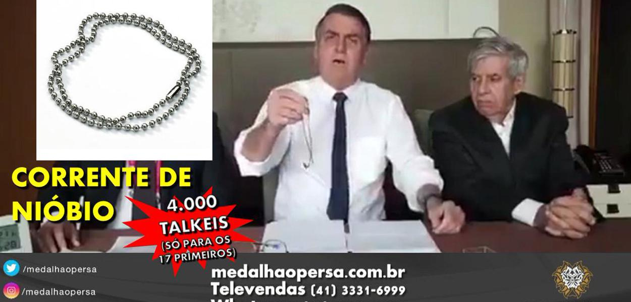 Bolsonaro vira piada na internet