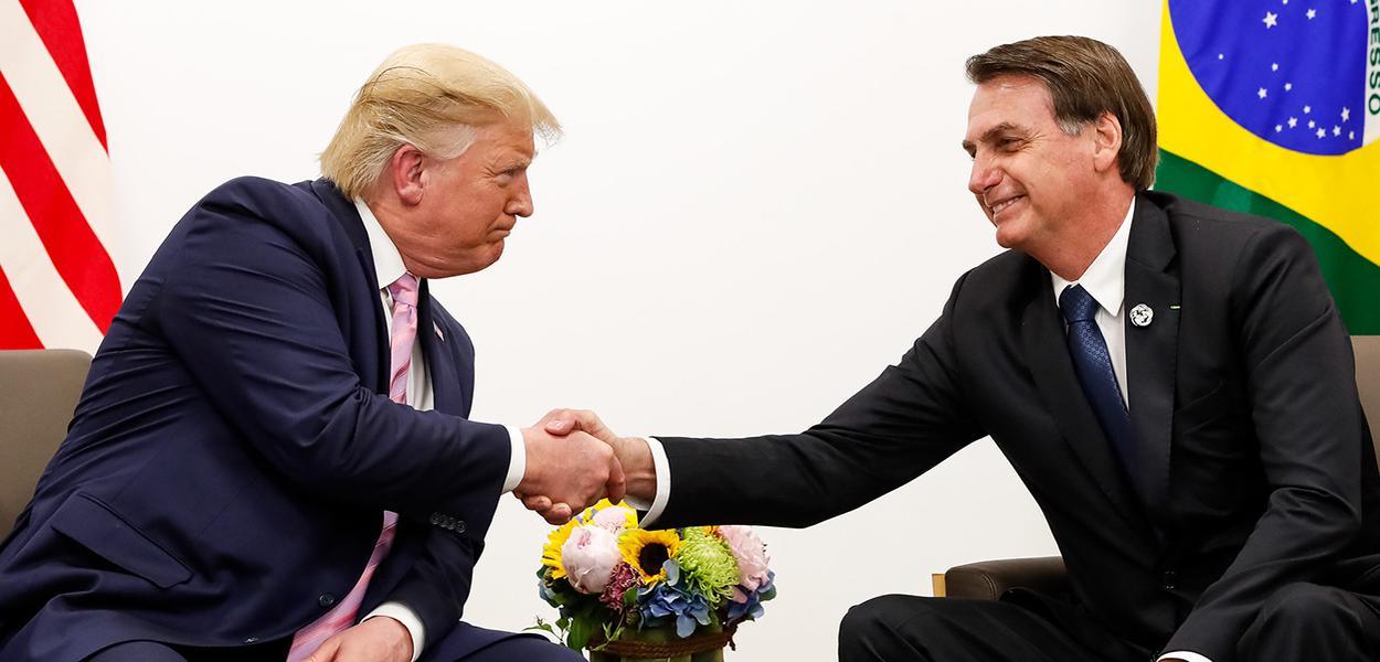 Trump elogia Bolsonaro