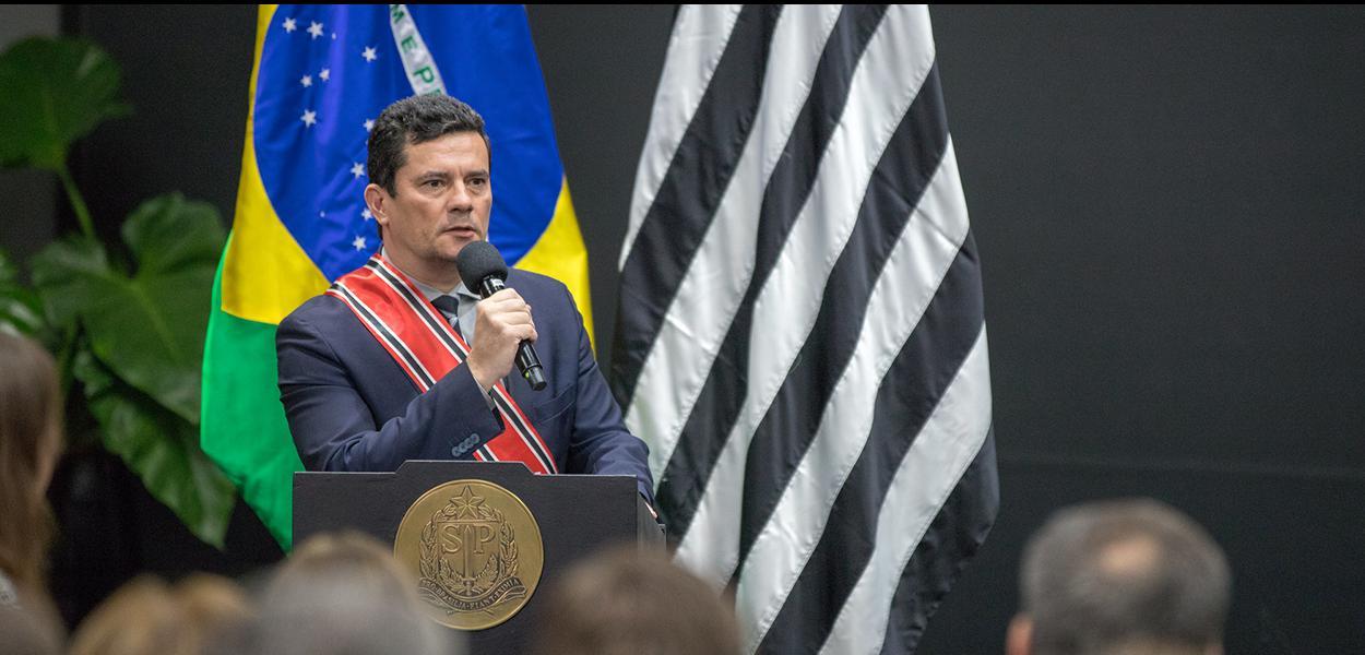 O governador do Estado de São Paulo, João Doria, participa de entrega de Medalha da Ordem do Ipiranga ao Ministro Sérgio Moro. Local: São Paulo/SP. Data: 28/06/2019. Foto: Governo do Estado de São Paulo