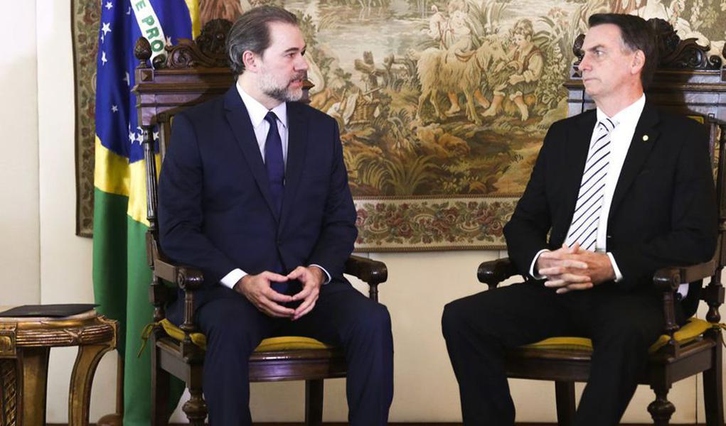 Pacto de Bolsonaro compromete Dias Toffoli