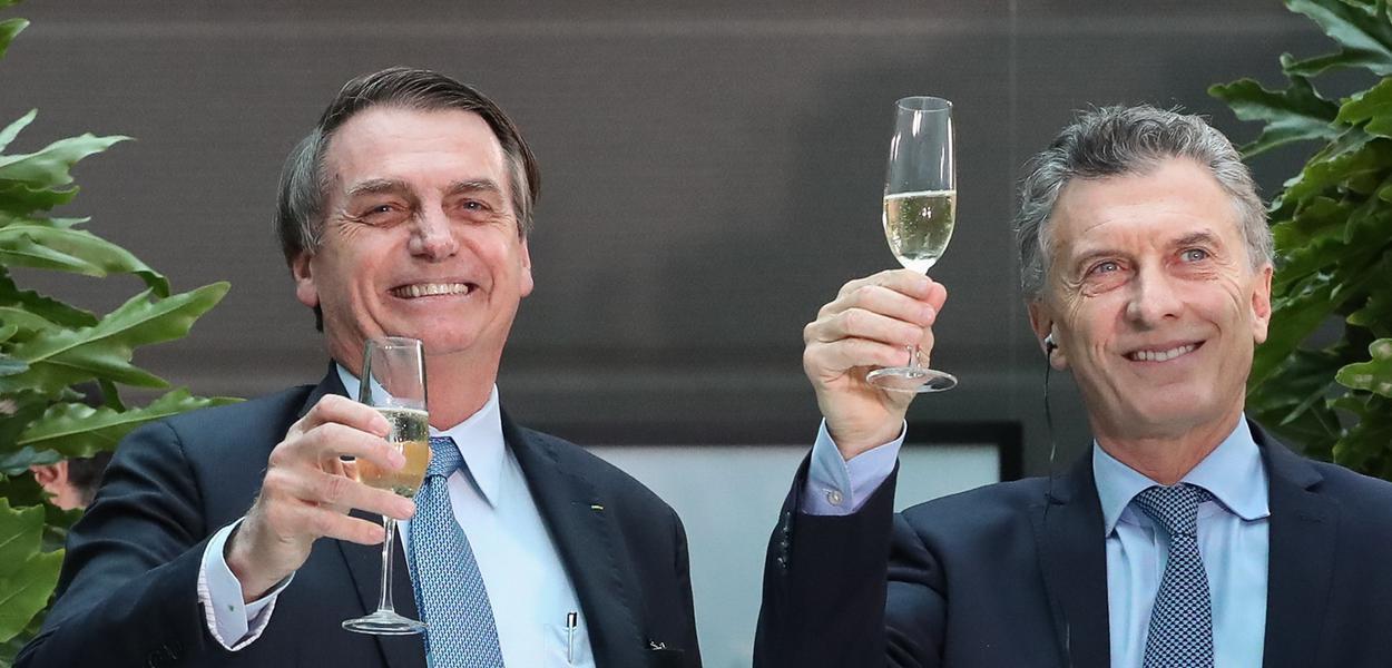 Buenos Aires - Argentina Jair Bolsonaro em Almoço Oficial oferecido pelo Senhor Mauricio Macri, Presidente da República Argentina.