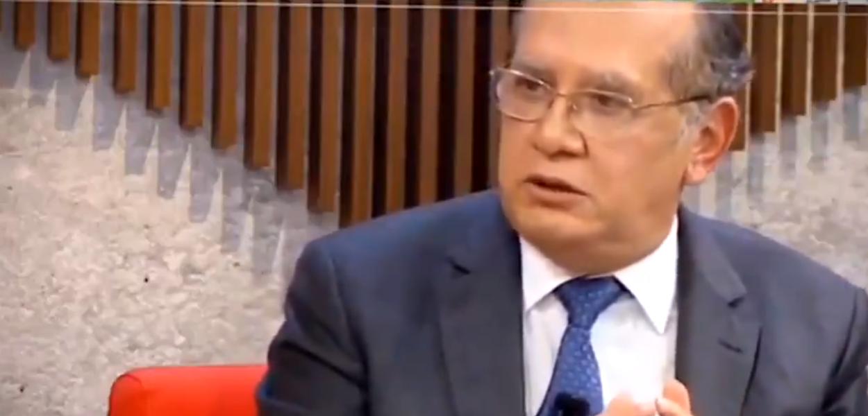 Gilmar Mendes em entrevista à Globo News