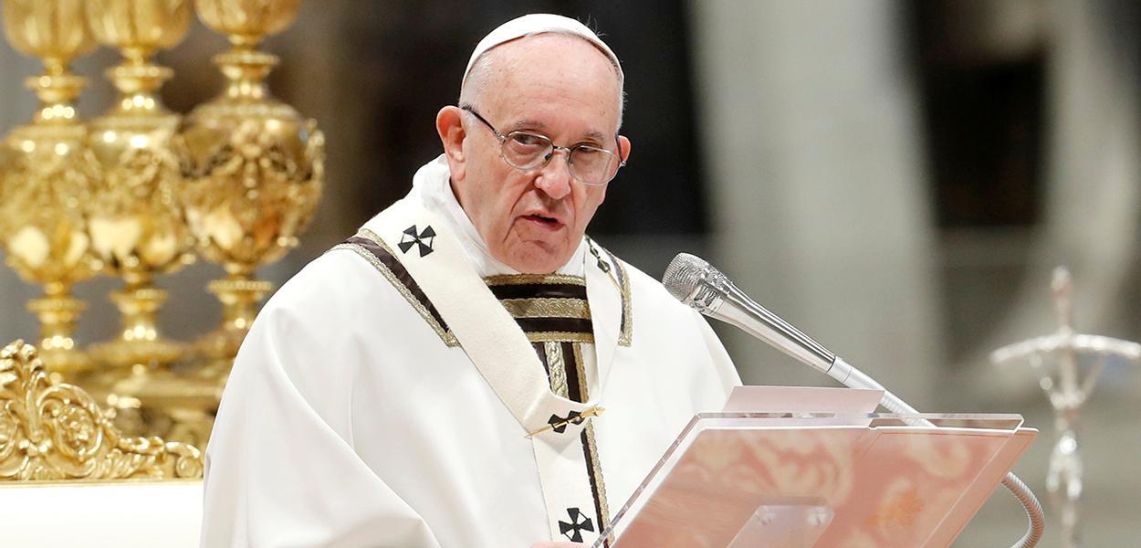 Papa Francisco celebra missa no Vaticano