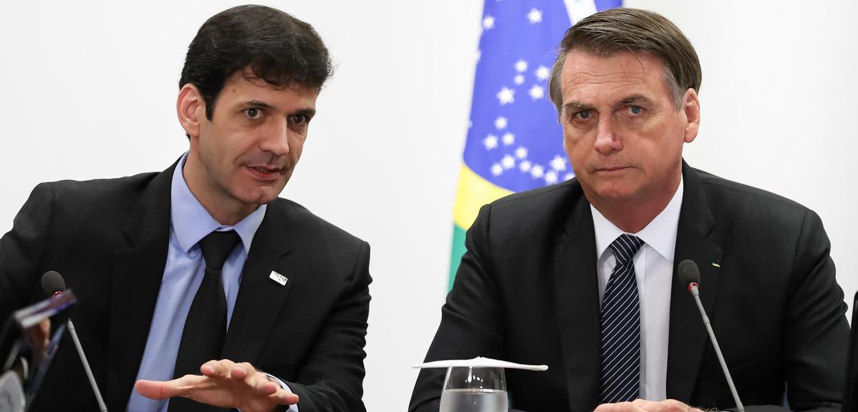 (Brasília - DF, 22/04/2019) Reunião  com Marcelo Álvaro Antônio, Ministro de Estado do Turismo.Foto: Marcos Corrêa/PR