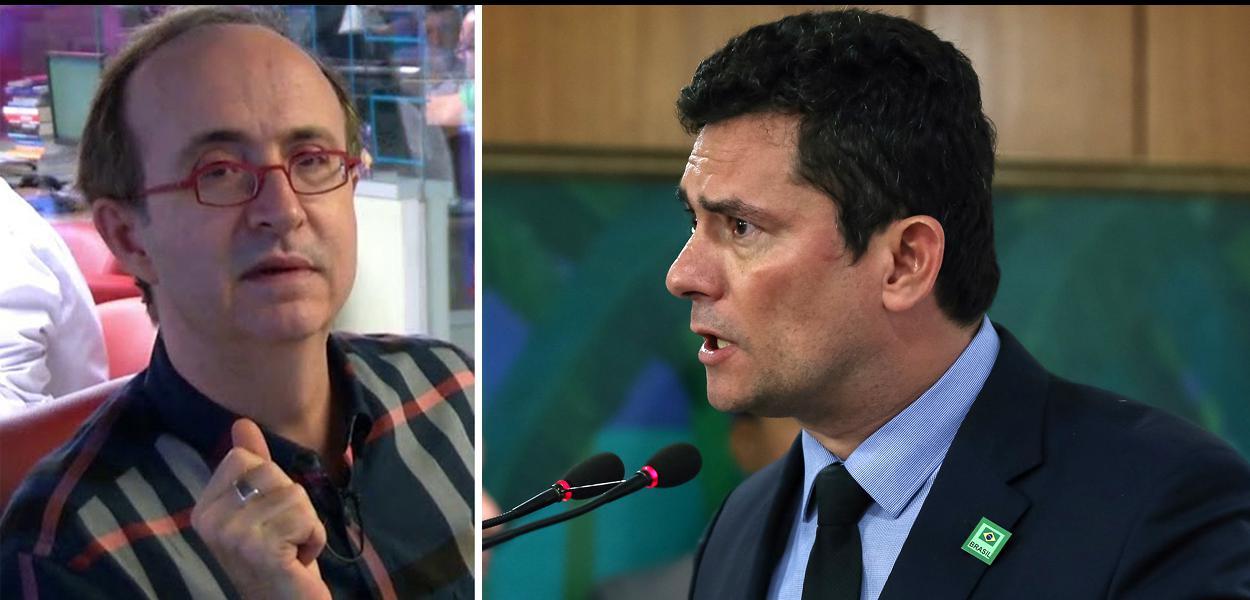 Reinaldo: 'monstro do autoritarismo e do atraso, Moro vai se tornando uma figura patética'