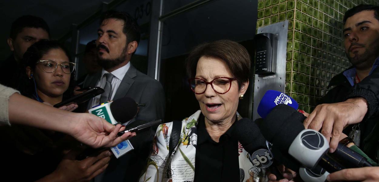 Brasilia DF - ministra da Agricultura no governo de Jair Bolsonaro, Tereza Cristina