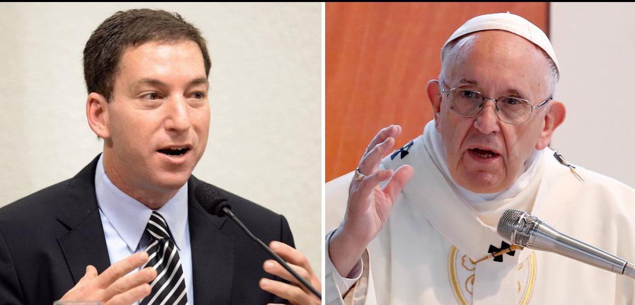 Glenn Greenwald Papa Francisco