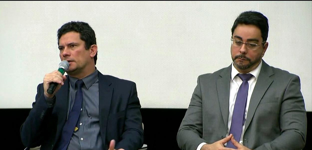 Sergio Moro e Marcelo Bretas