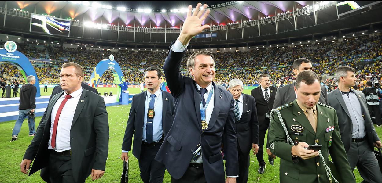 Bolsonaro no Maracanã