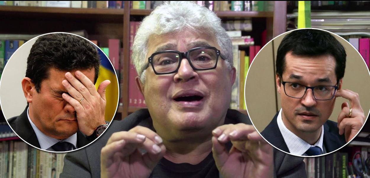 Ricardo Noblat, Sérgio Moro e Deltan Dallagnol