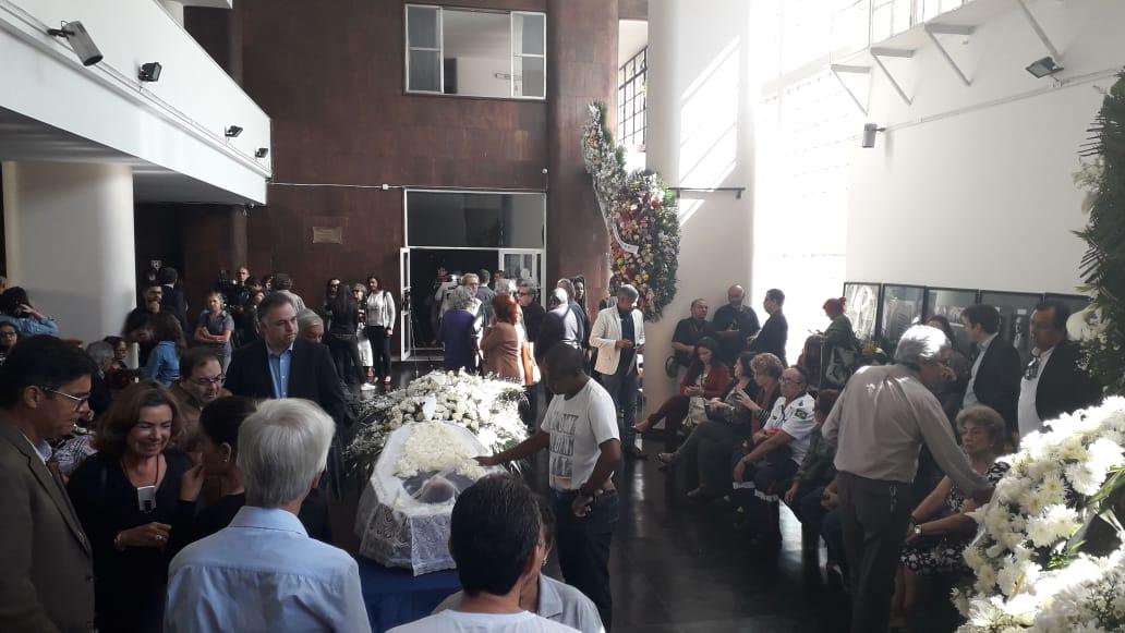 Velório Paulo Henrique Amorim