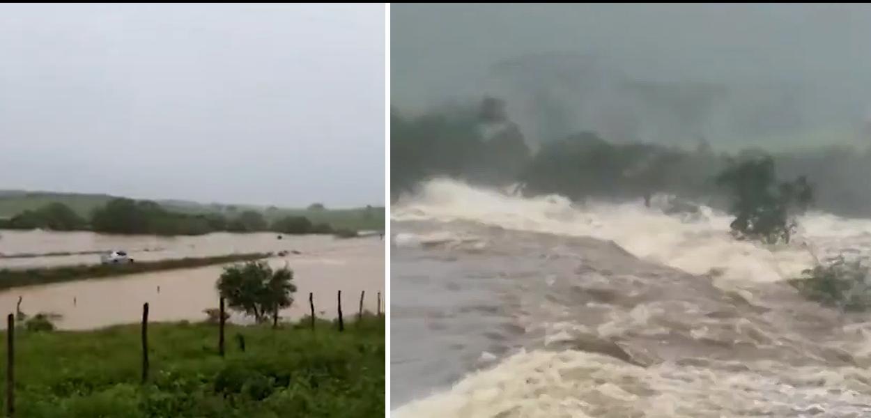 Barragem rompe em cidade da Bahia