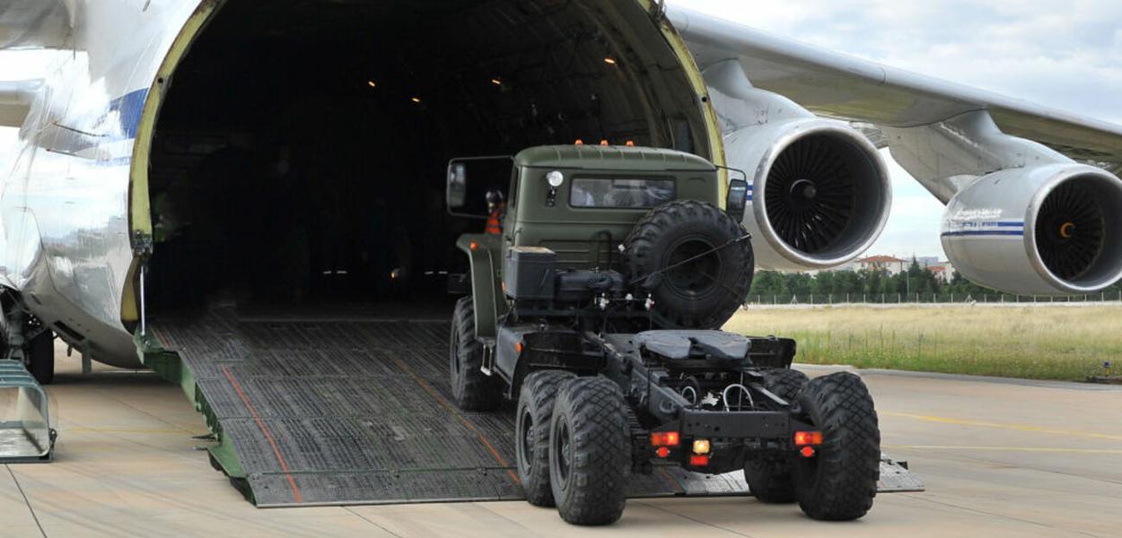 Turquia recebe sistemas da defesa antiaérea russo