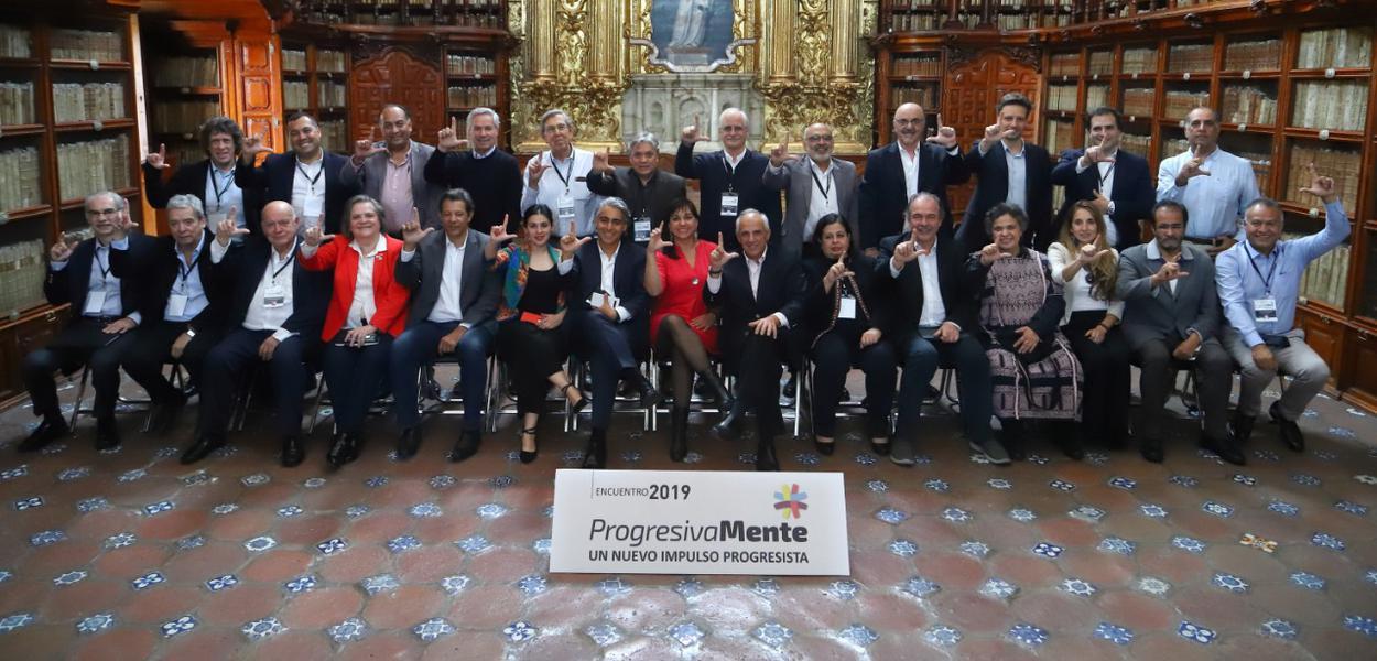 Progressistas em encontro no México