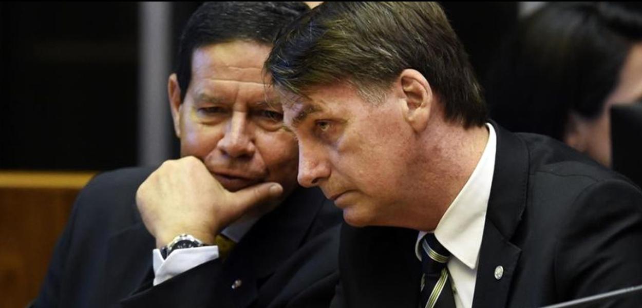 Planalto gastará R$ 7,1 mi com carros para famílias de Bolsonaro e Mourão