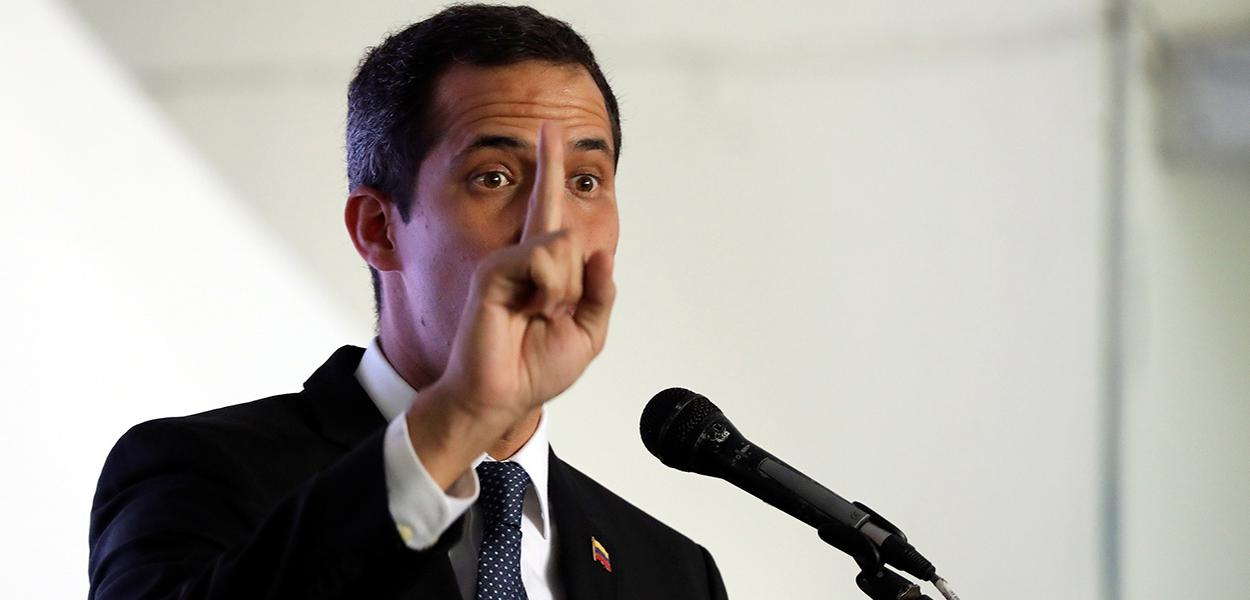 Líder da oposição venezuelana Juan Guaidó