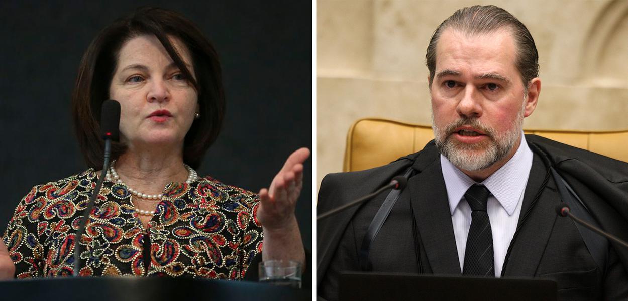 Raquel Dodge e Dias Toffoli