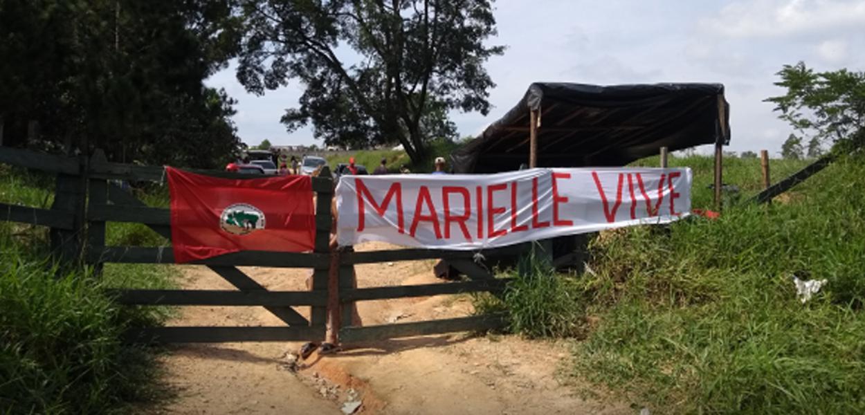 Acampamento Marielle Vive abriga mais de mil famílias