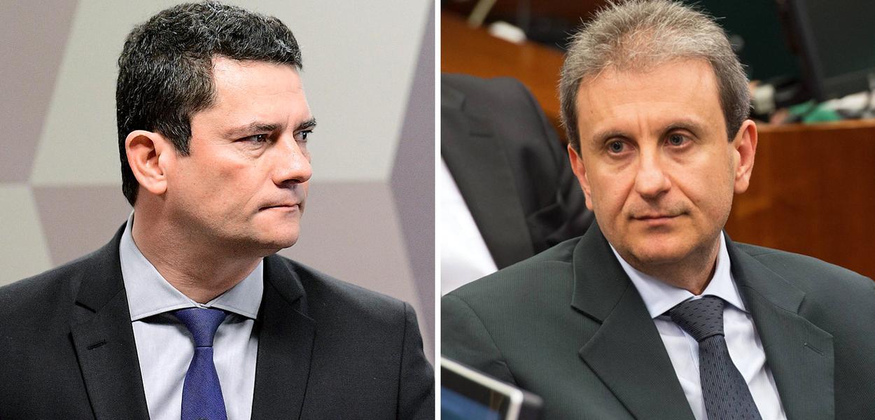 Sergio Moro e Alberto Youssef