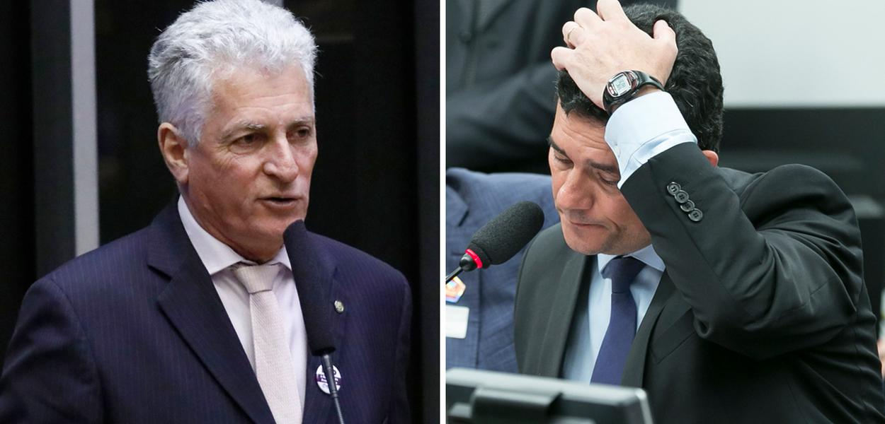 Rogério Correia e Sergio Moro