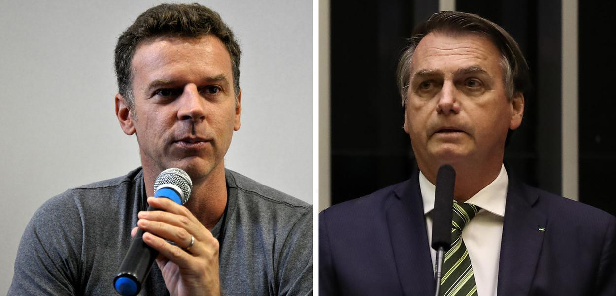 Eduardo Moreira e Jair Bolsonaro
