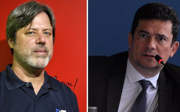 Brian Mier e Sergio Moro