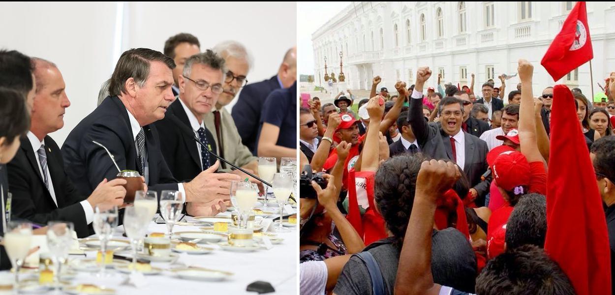 Bolsonaro ataca Flávio Dino