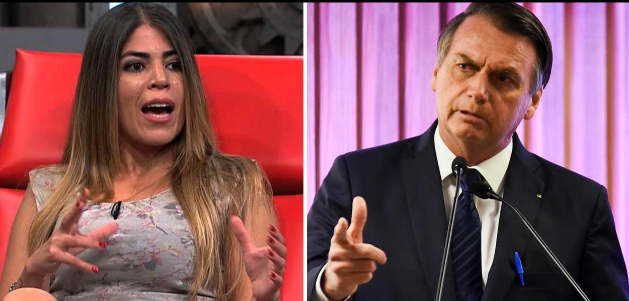 Bruna Surfistinha e Jair Bolsonaro