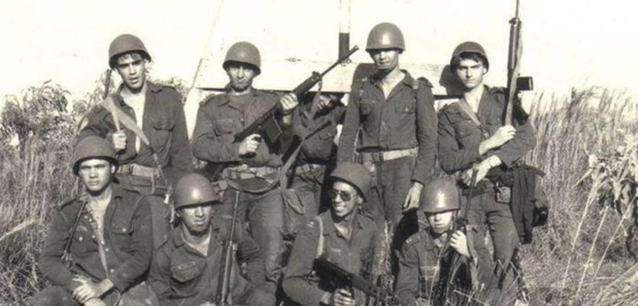 Bolsonaro quando estava no Exército