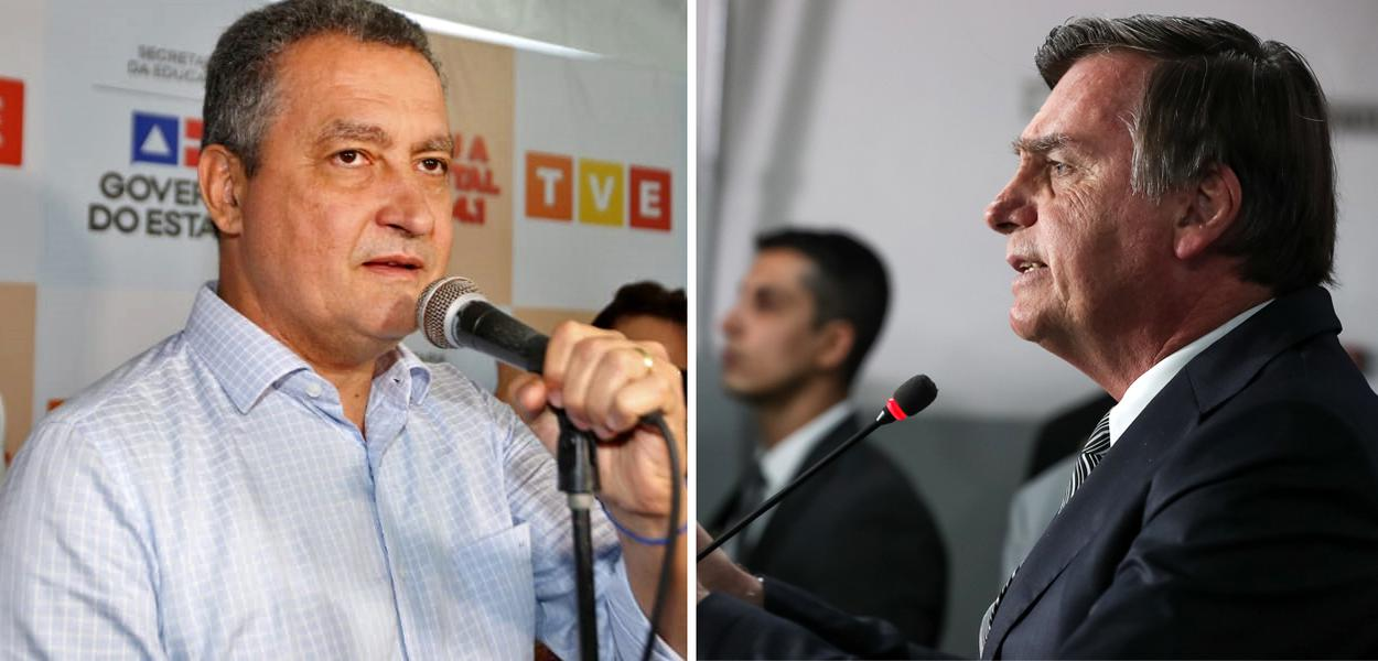 Governador da Bahia Rui Costa e Presidente Jair Bolsonaro