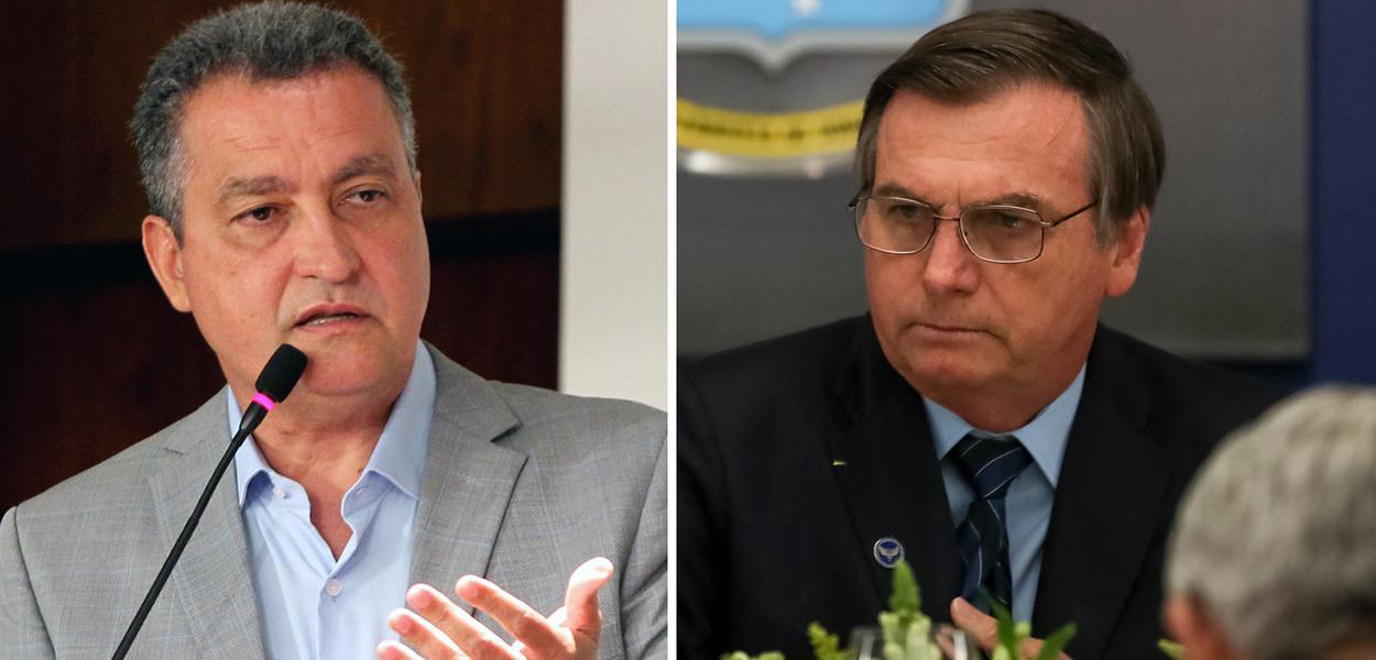 Governador Rui Costa e Presidente Jair Bolsonaro