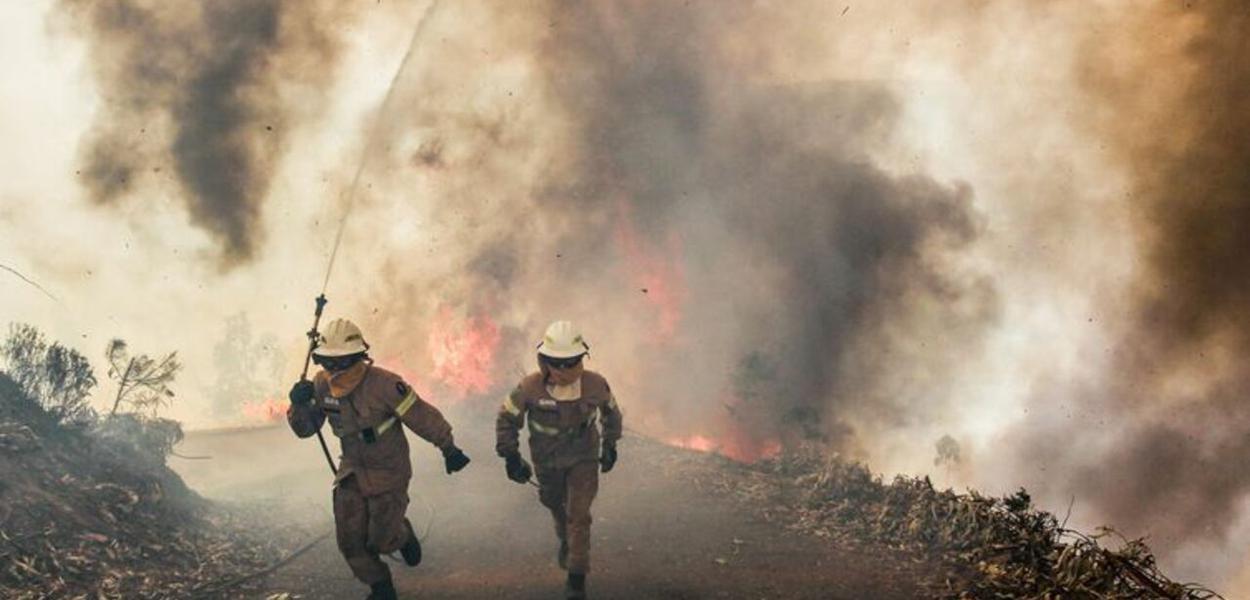 Portugal, incêndio florestal