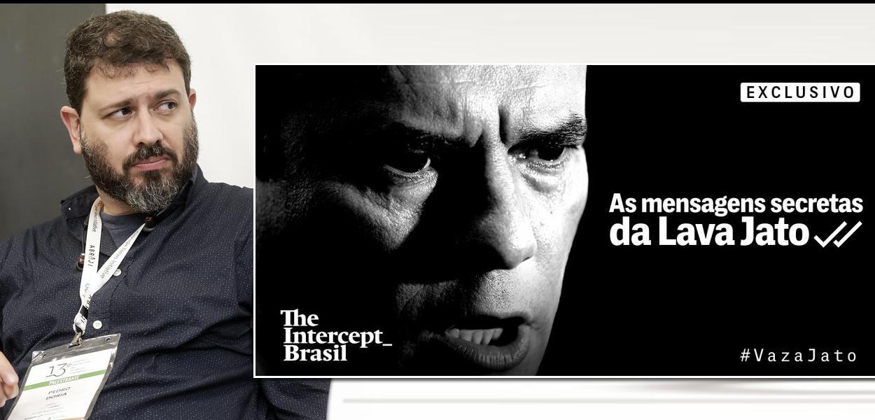 Pedro Doria e The Intercept Brasil com a série de reportagens da Vaza Jato.
