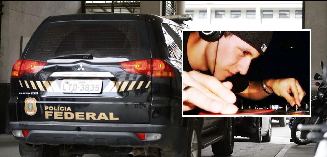 Polícia Federal e suspeito de hackear celulares de Moro e outras autoridades