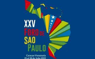 Concluye el XXV Encuentro del Foro de São Paulo en Caracas