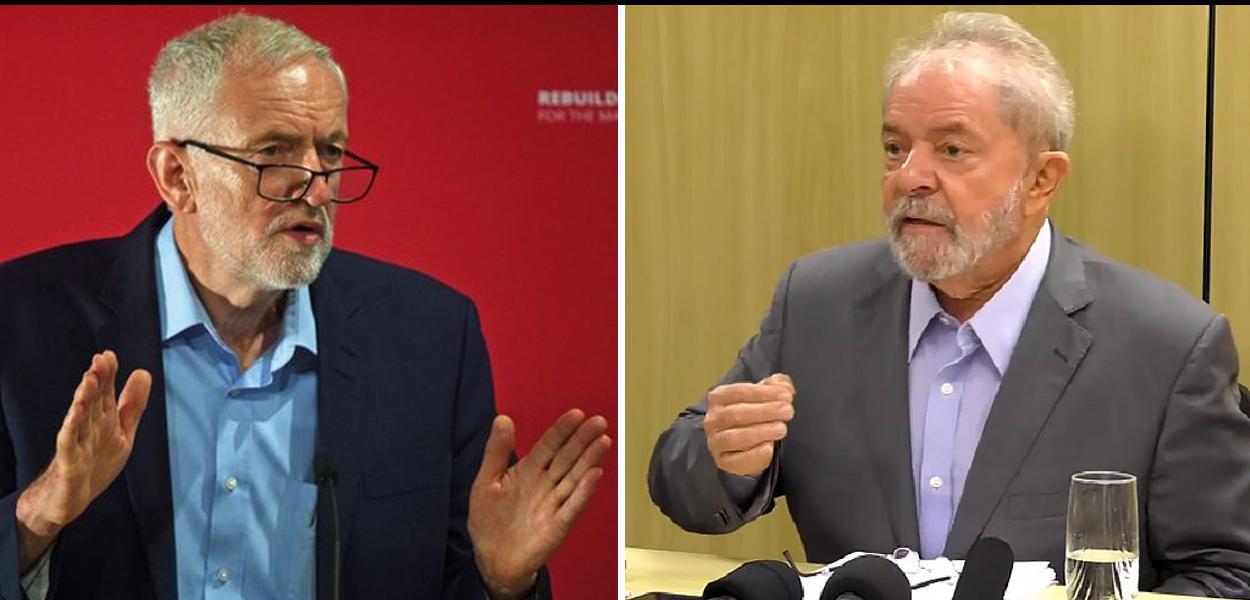 Jeremy Corbyne e Lula