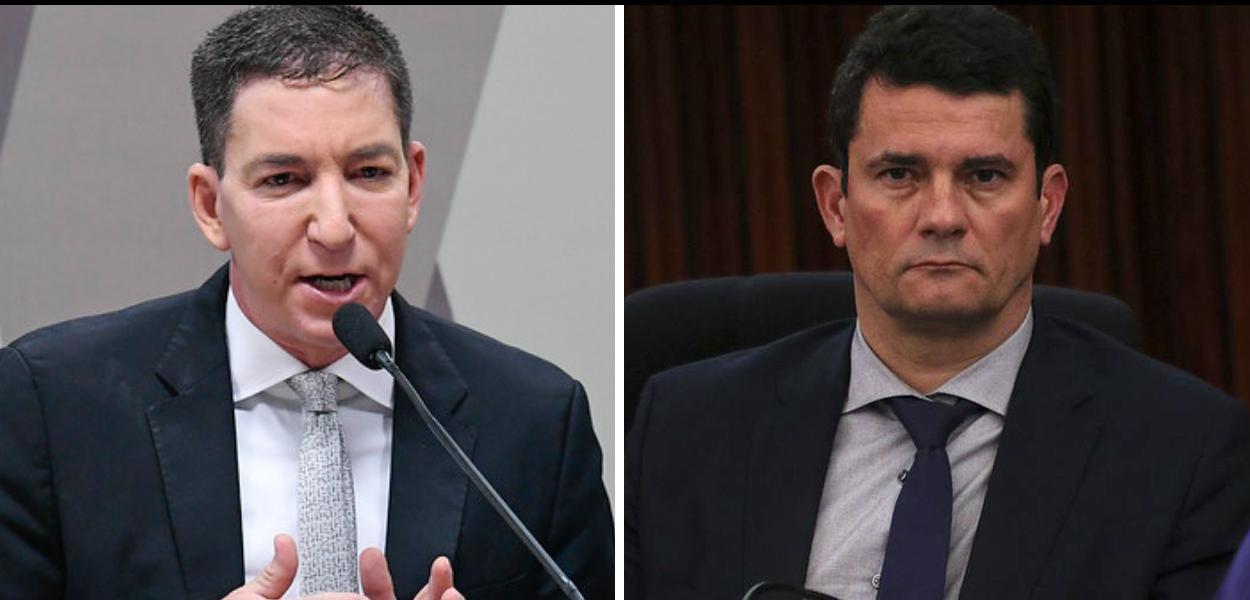 Glenn Greenwald e Sergio Moro