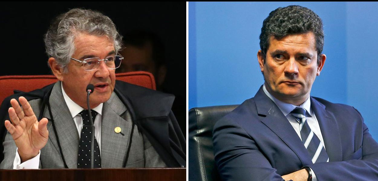 Marco Aurélio Mello e Sergio Moro