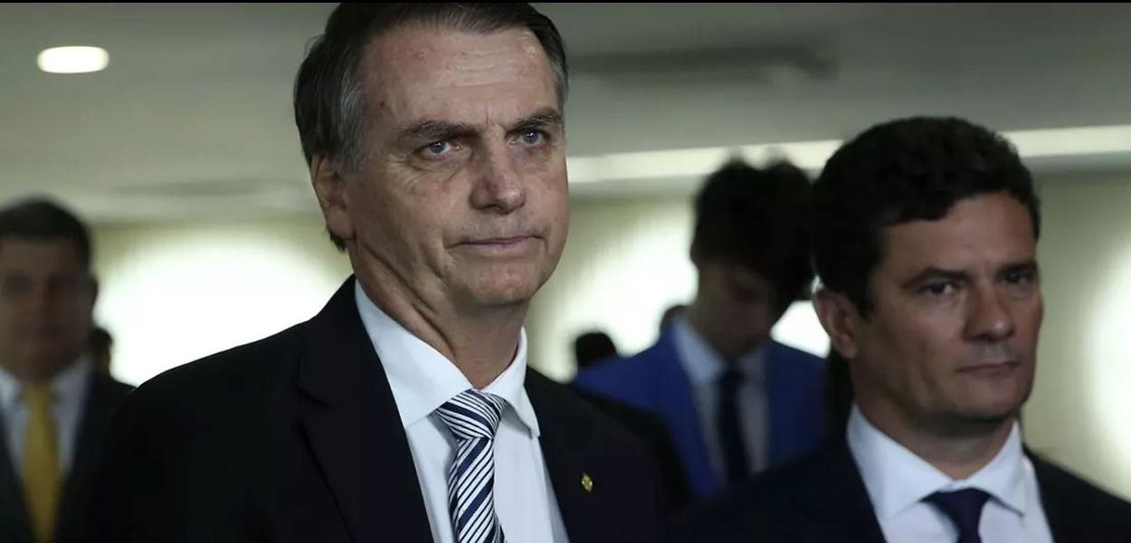 A Era Bolsonaro cala o ministro Sérgio Moro