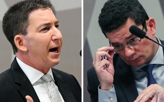 Glenn Greenwald and Sergio Moro