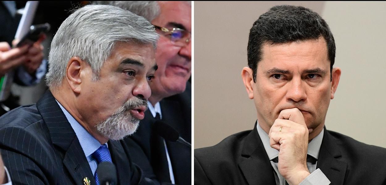 Humberto Costa pede demissão de Moro: você cassou o voto de milhões de brasileiros