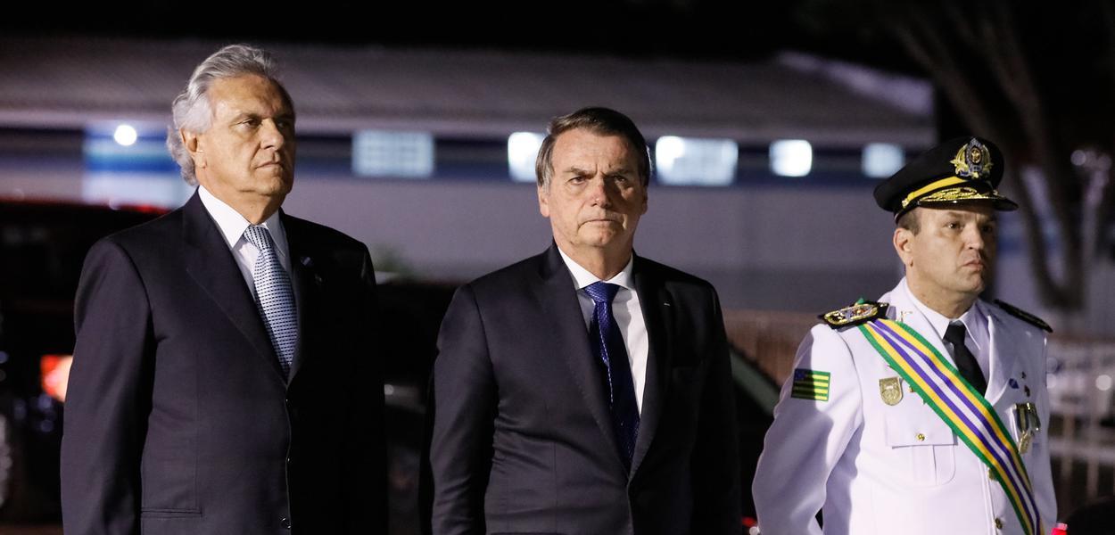 (Goiânia - GO, 26/07/2019) Jair Bolsonaro, durante Cerimônia de Comemoração do 161o Aniversário da PM-GO e Formatura da 45a Turma de Aspirantes.